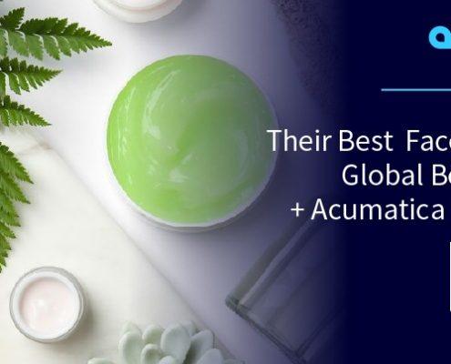 Ponga su mejor cara: Global Beauty Care + Acumatica Cloud ERP (GBC)