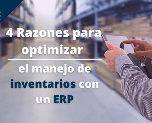 control en el movimiento de inventarios con un ERP